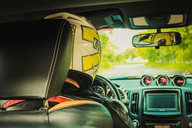 Xe the thao Nissan 370Z do canh gio soi carbon o Sai Gon hinh anh 7