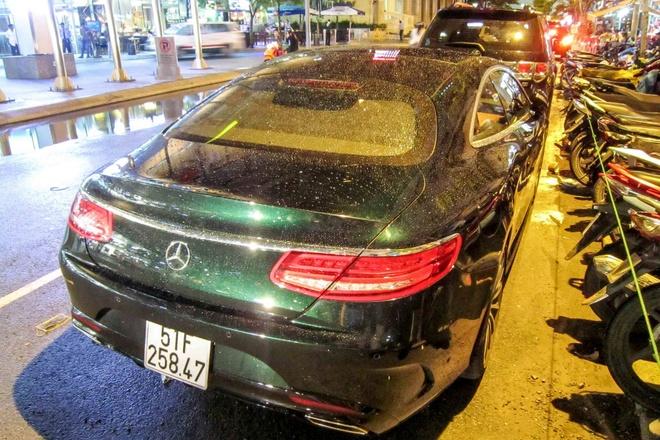 Mercedes S Class Coupe hon 7 ty ra bien trang tai Sai Gon hinh anh