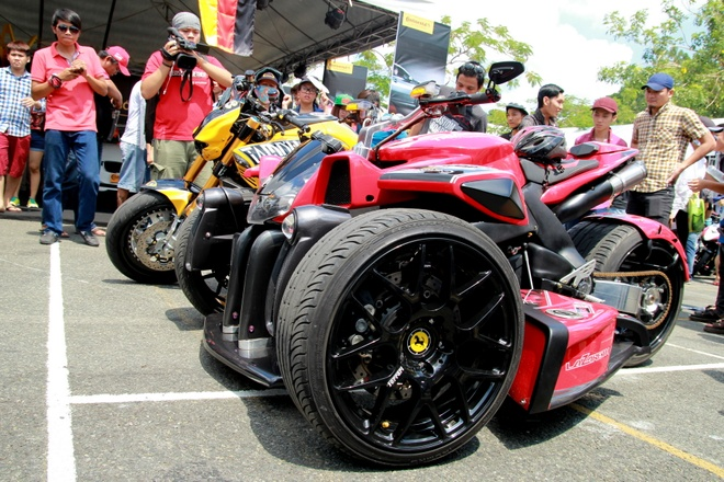 Tam diem Vietnam Motorbike Festival 2015 hinh anh