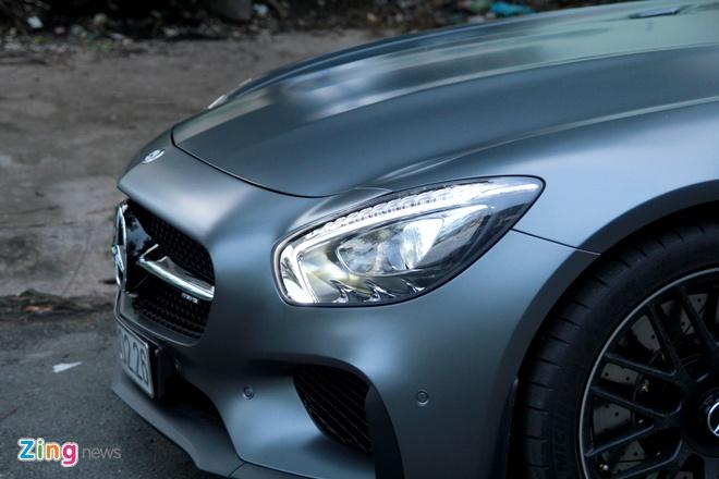 Chi tiet Mercedes GT S Edition 1 gan 10 ty tai Sai Gon hinh anh 9