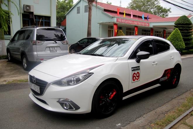 Mazda 3 do don gian nhung noi bat o Sai Gon hinh anh