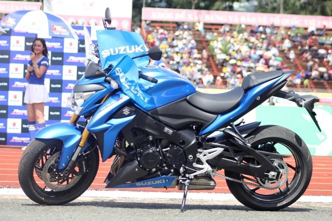 Chi tiet Suzuki GSX-S1000 - doi thu Kawasaki Z1000 tai VN hinh anh