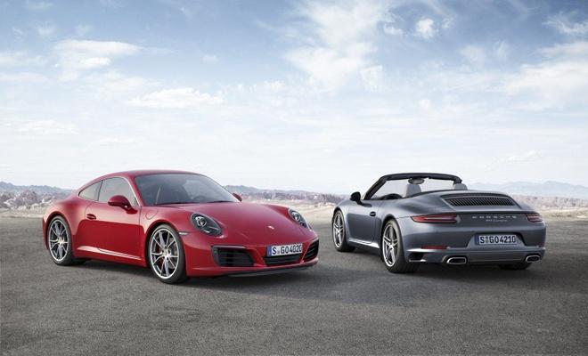 Porsche ra mat 911 Carrera va Carrera S doi 2016 hinh anh