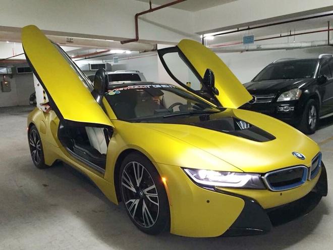BMW i8 do thanh mau vang doc nhat tai Sai Gon hinh anh 5
