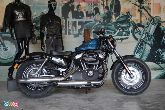Chi tiet Harley Davidson Forty-Eight moi giam gia tai VN hinh anh 1