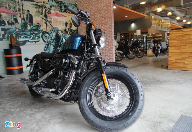 Chi tiet Harley Davidson Forty-Eight moi giam gia tai VN hinh anh 2
