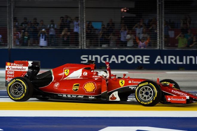 Chi tiet xe dua F1 cua Ferrari chien thang tai Singapore hinh anh 2