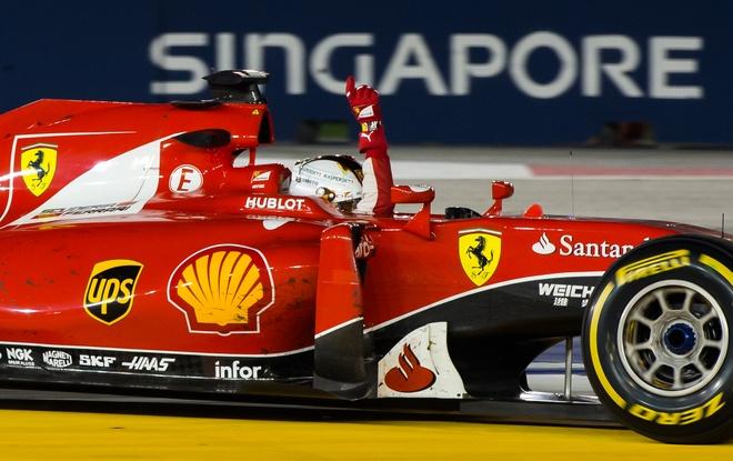 Chi tiet xe dua F1 cua Ferrari chien thang tai Singapore hinh anh 4