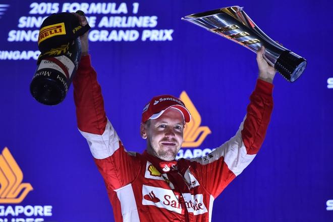 Chi tiet xe dua F1 cua Ferrari chien thang tai Singapore hinh anh 1
