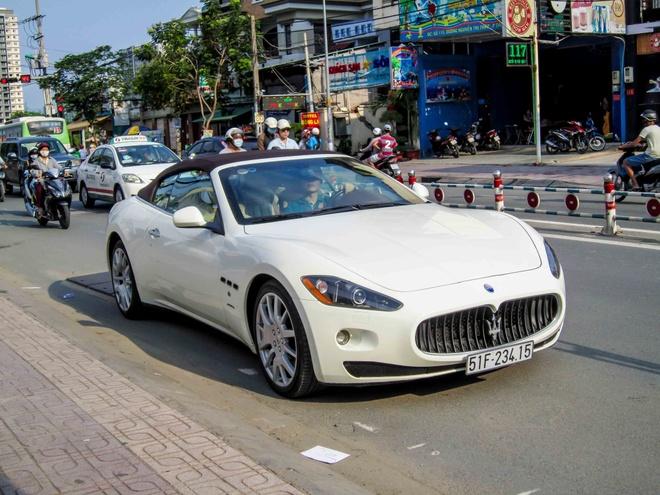 Sieu xe Maserati GranCabrio hang doc o Sai Gon hinh anh