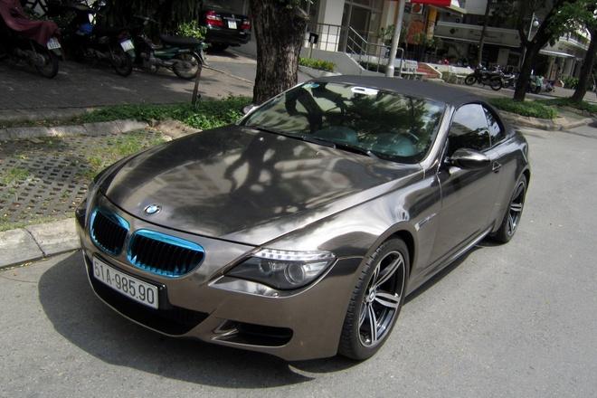BMW M6 mui tran mau doc o Sai Gon hinh anh