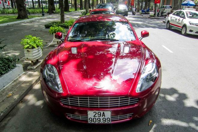 Sieu xe Aston Martin Rapide bien Ha Noi vao Sai Gon hinh anh 3