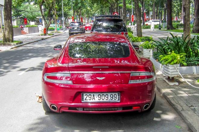 Sieu xe Aston Martin Rapide bien Ha Noi vao Sai Gon hinh anh 4