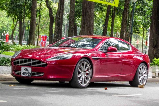 Sieu xe Aston Martin Rapide bien Ha Noi vao Sai Gon hinh anh