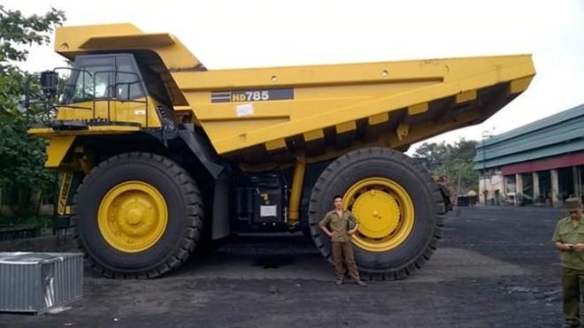 Giải mã siêu xe tải giá 20 tỷ đồng ở Quảng Ninh