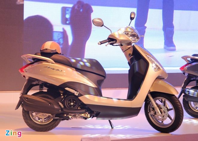 Yamaha trinh lang xe ga Acruzo gia 35 trieu tai Viet Nam hinh anh 3 Acruzo là mẫu xe ga dành cho nữ, được trang bị động cơ Blue Core thế hệ mới.