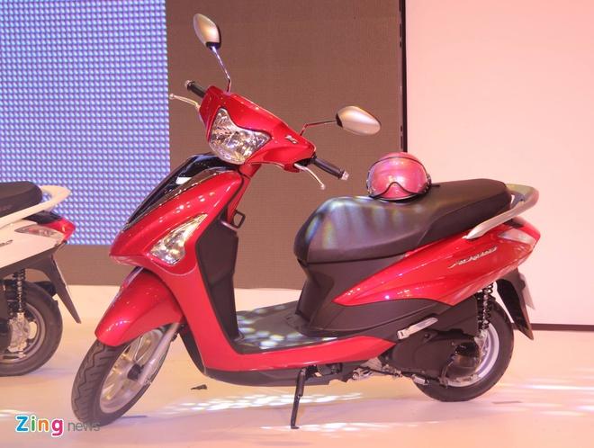 Yamaha trinh lang xe ga Acruzo gia 35 trieu tai Viet Nam hinh anh 1 Yamaha Acruzo có 7 lựa chọn màu sắc. Ảnh: Minh Anh.