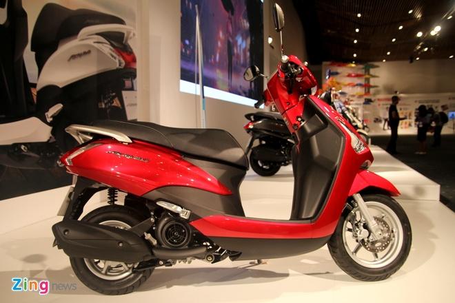 Chi tiet Yamaha Acruzo - doi thu Honda Lead tai Viet Nam hinh anh 1