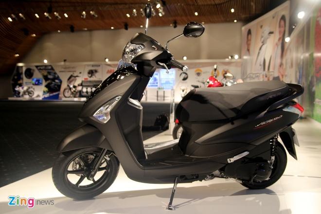 Chi tiet Yamaha Acruzo - doi thu Honda Lead tai Viet Nam hinh anh 9