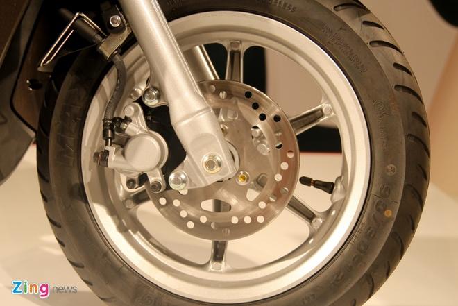 Chi tiet Yamaha Acruzo - doi thu Honda Lead tai Viet Nam hinh anh 7