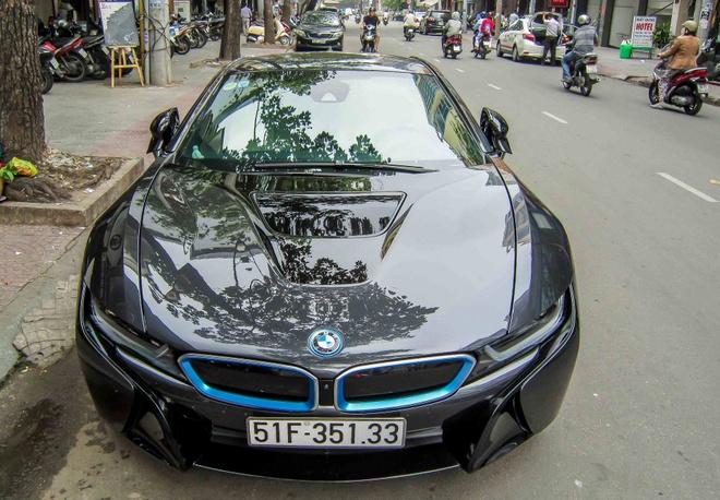 BMW i8 cua thieu gia 20 tuoi o Sai Gon hinh anh 2