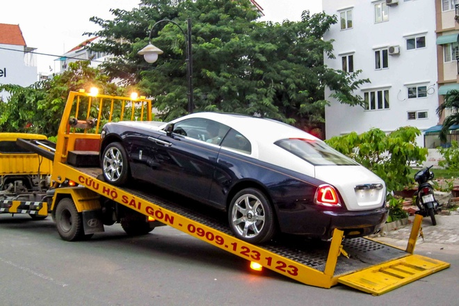 Sieu xe Rolls-Royce Wraith 21 ty xuat hien o Sai Gon hinh anh