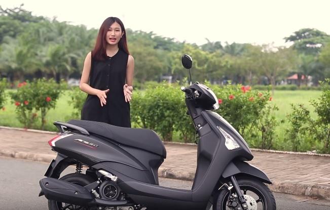 Yamaha Acruzo - xe tay ga cho nu co cop rong hinh anh
