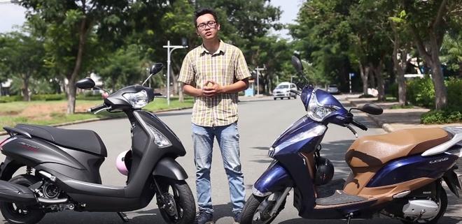 So sanh Yamaha Acruzo va Honda Lead hinh anh