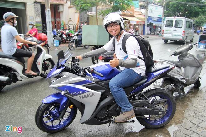 Yamaha R3 hoi ngo dan sieu moto tai Sai Gon hinh anh 10