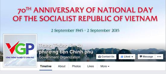 Chinh phu dang thu nghiem cung cap thong tin qua Facebook hinh anh