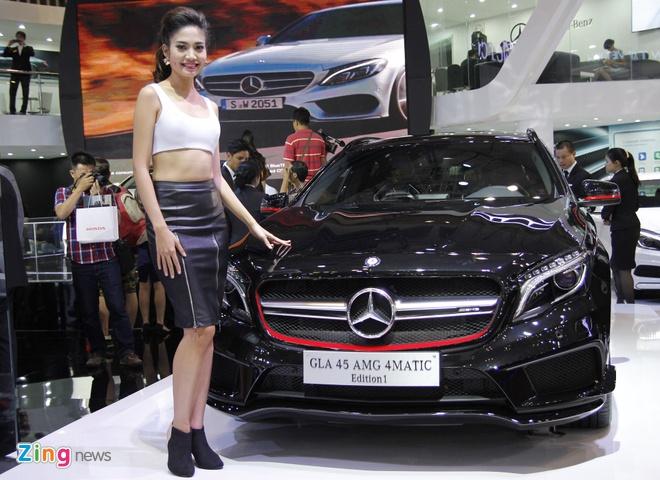 Vietnam Motor Show 2015 truoc ngay khai mac hinh anh 1