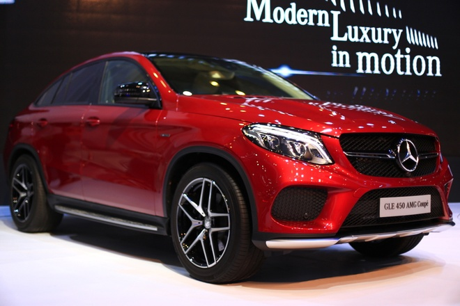 Anh chi tiet Mercedes GLE Coupe dau tien tai Viet Nam hinh anh
