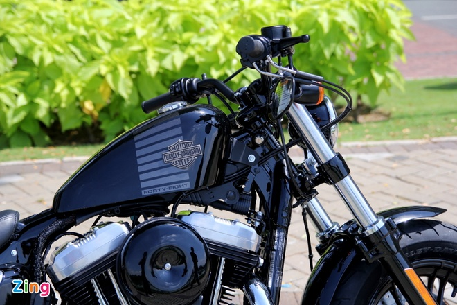 Chi tiet Harley Forty-Eight 2016 vua ra mat tai Viet Nam hinh anh 5