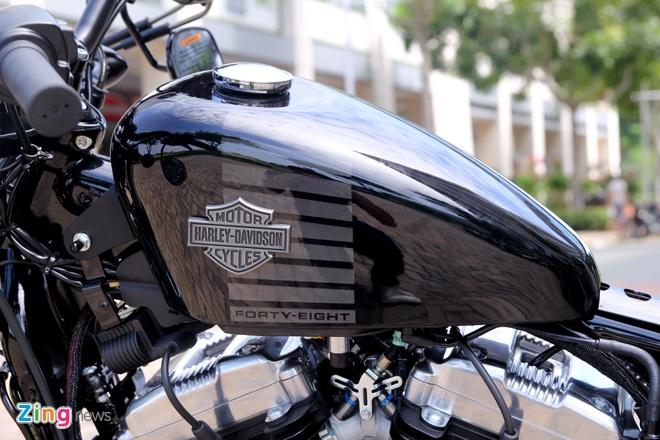 Chi tiet Harley Forty-Eight 2016 vua ra mat tai Viet Nam hinh anh 2