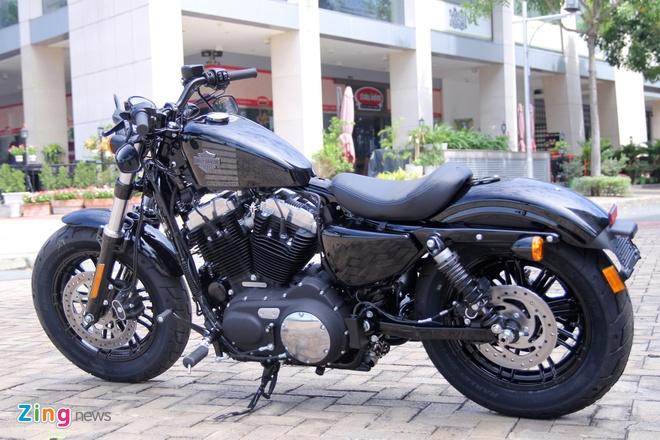 Chi tiet Harley Forty-Eight 2016 vua ra mat tai Viet Nam hinh anh 7