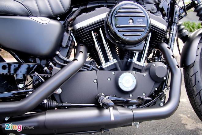 Chi tiet Harley Iron 883 danh cho nguoi nho con tai VN hinh anh 5