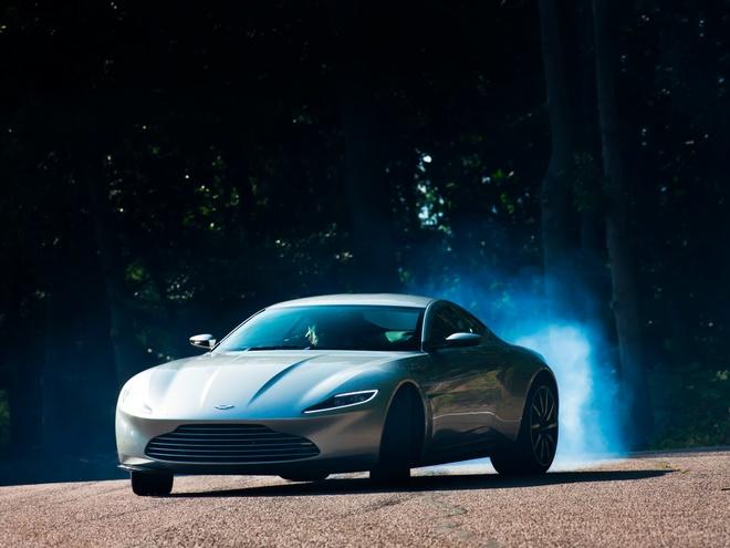Sieu xe Aston Martin cua diep vien 007 co kha nang chong dan hinh anh 1