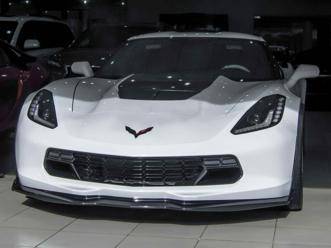 Sieu xe Chevrolet Corvette Z06 dau tien ve Viet Nam hinh anh