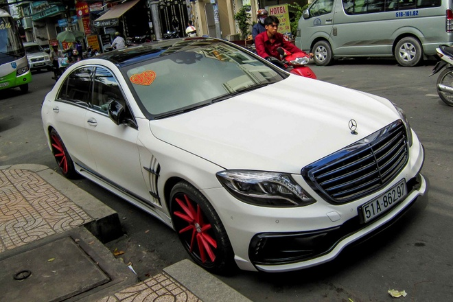 Mercedes S-Class do hang doc moi ra lo o Sai Gon hinh anh 1