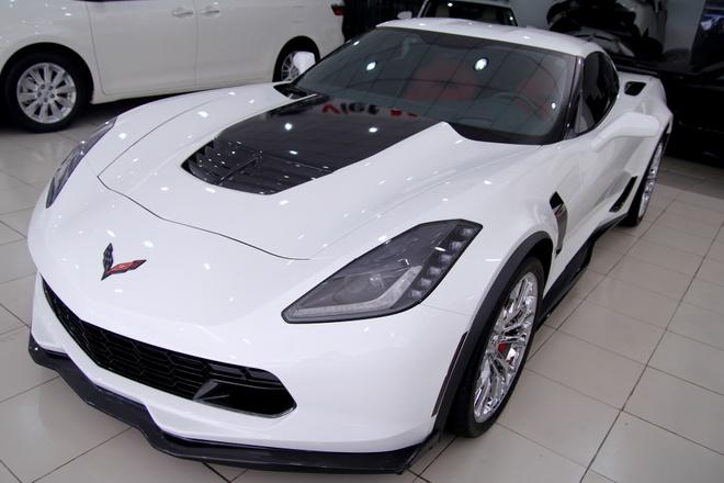 Chi tiet sieu xe Corvette Z06 dau tien tai Viet Nam hinh anh