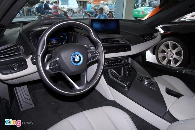 Chi tiet BMW i8 mau doc o Sai Gon hinh anh 11