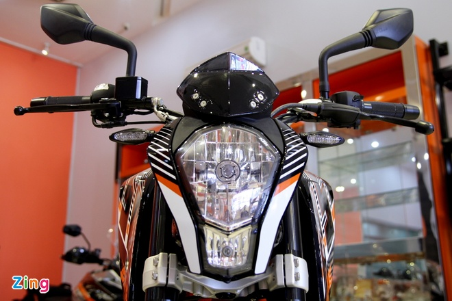 Chi tiet naked bike KTM 250 Duke vua ra mat tai Viet Nam hinh anh 11