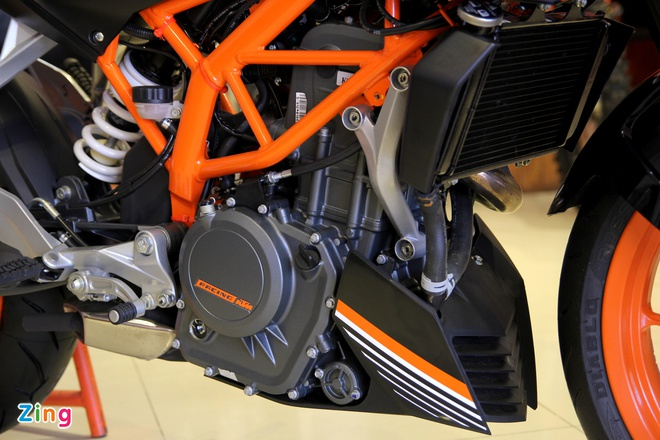 Chi tiet naked bike KTM 250 Duke vua ra mat tai Viet Nam hinh anh 4