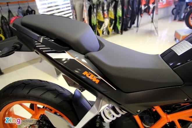 Chi tiet naked bike KTM 250 Duke vua ra mat tai Viet Nam hinh anh 5