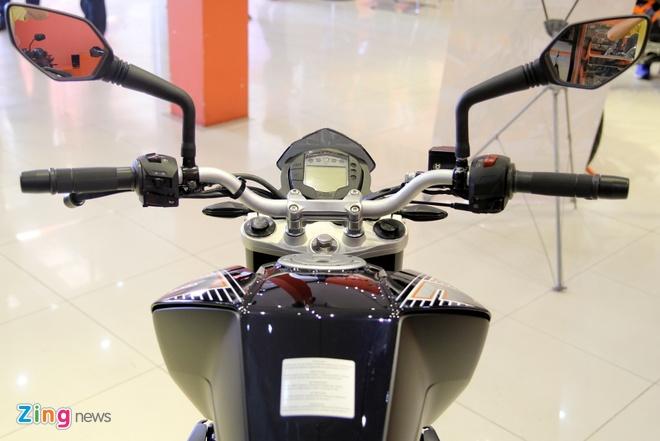 Chi tiet naked bike KTM 250 Duke vua ra mat tai Viet Nam hinh anh 9
