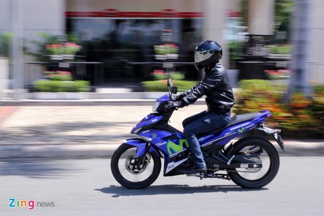 Yamaha Exciter 150 va FZ150i Movistar do dang hinh anh 13