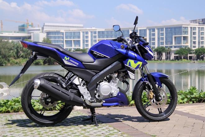 Yamaha Exciter 150 va FZ150i Movistar do dang hinh anh 3