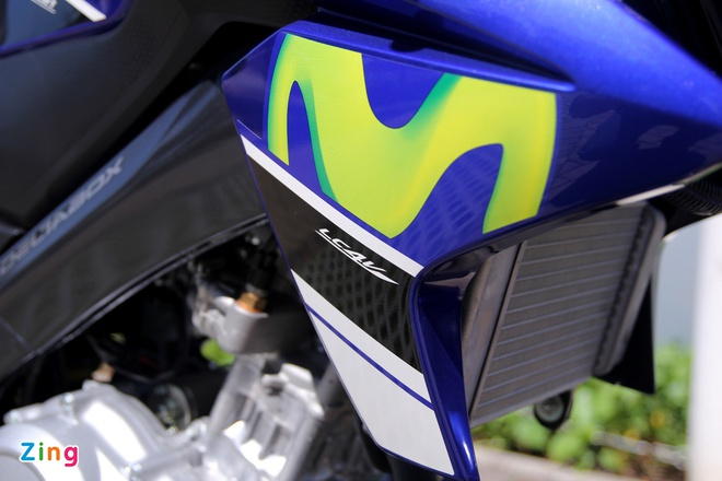 Yamaha Exciter 150 va FZ150i Movistar do dang hinh anh 4