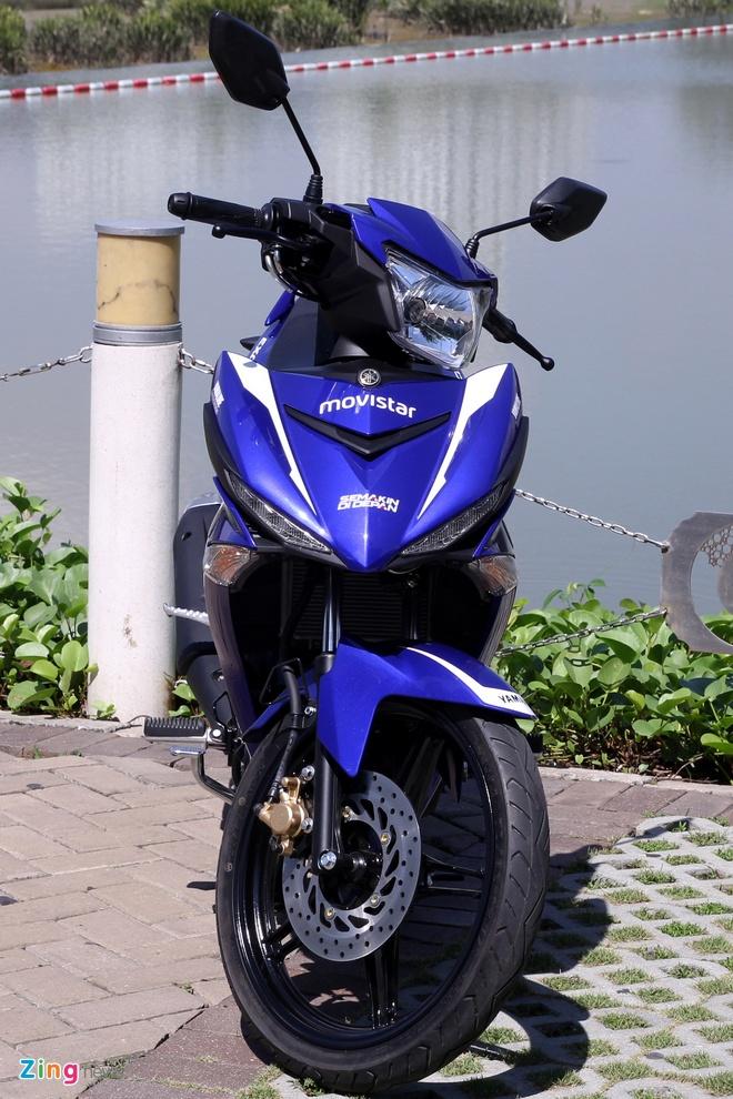 Yamaha Exciter 150 va FZ150i Movistar do dang hinh anh 9