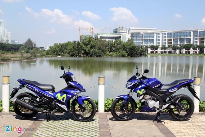 Yamaha Exciter 150 va FZ150i Movistar do dang hinh anh 6